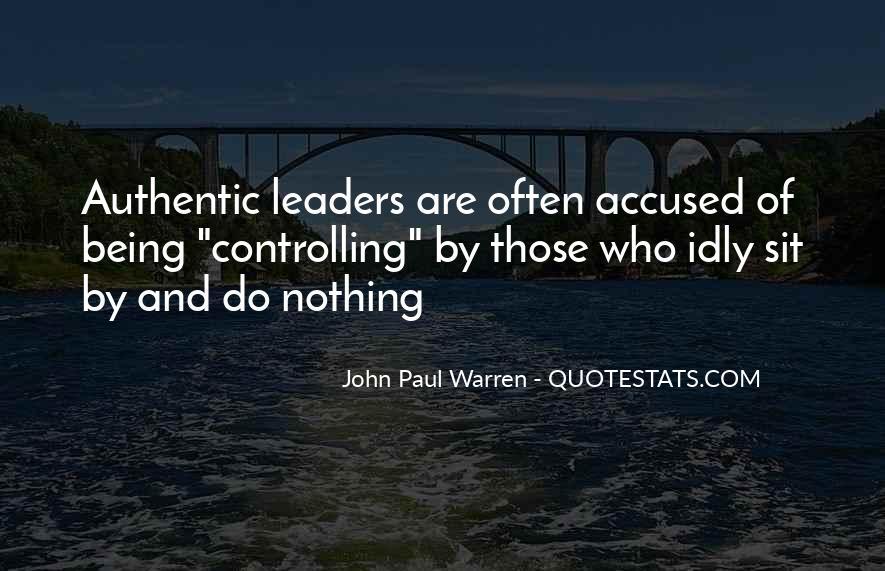 John Paul Warren Quotes #328975