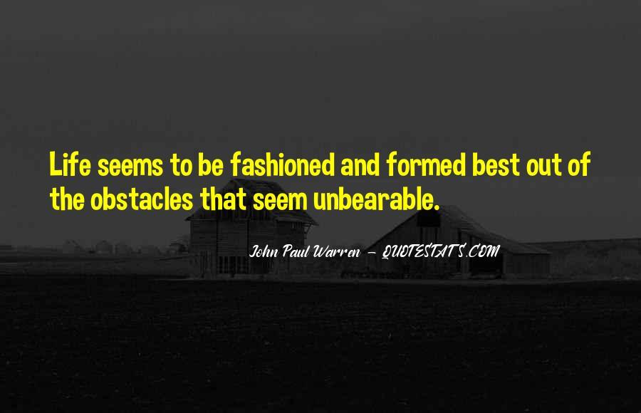 John Paul Warren Quotes #366476