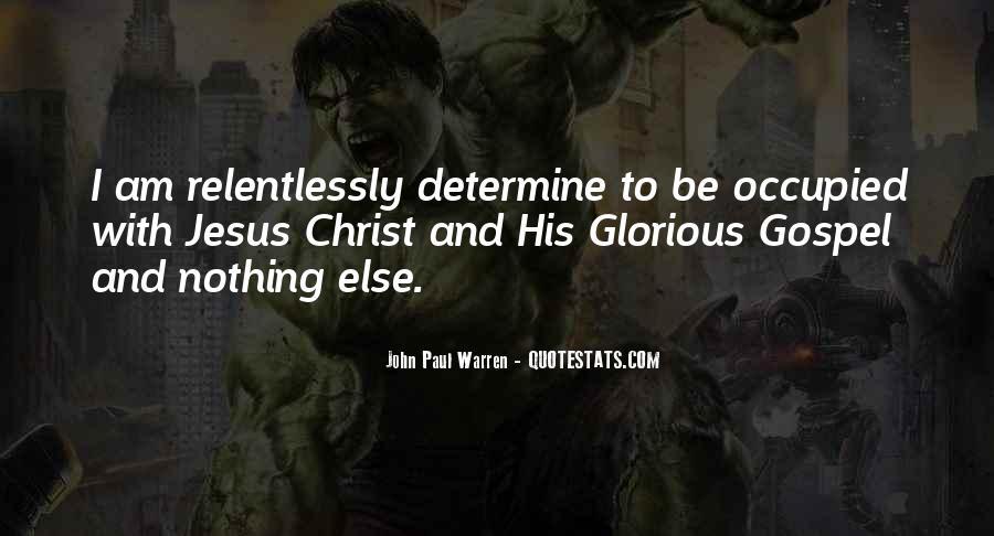 John Paul Warren Quotes #38877