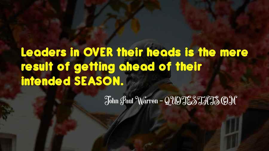 John Paul Warren Quotes #522960