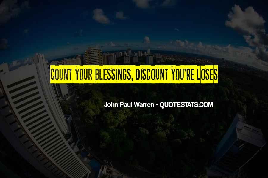 John Paul Warren Quotes #563524