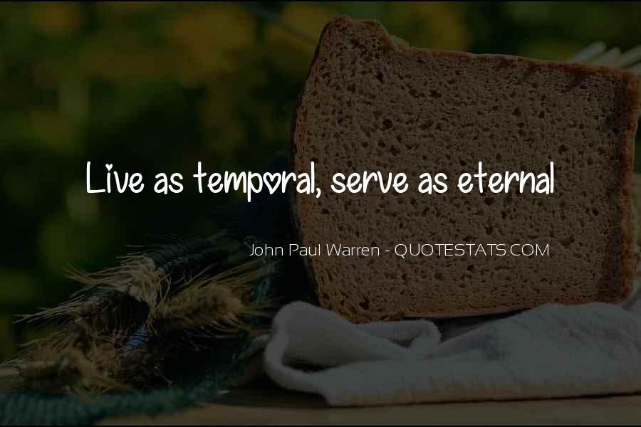 John Paul Warren Quotes #605675