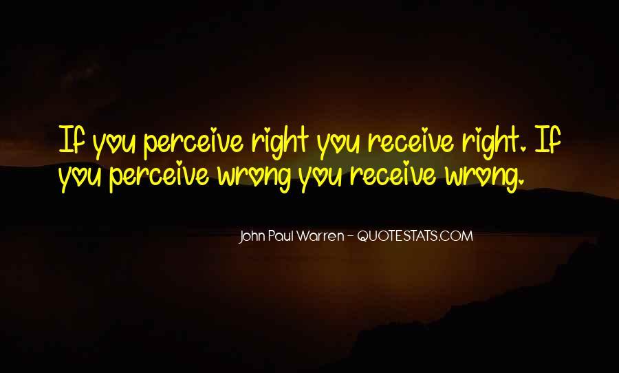 John Paul Warren Quotes #70362
