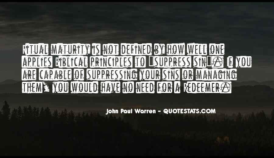 John Paul Warren Quotes #773707