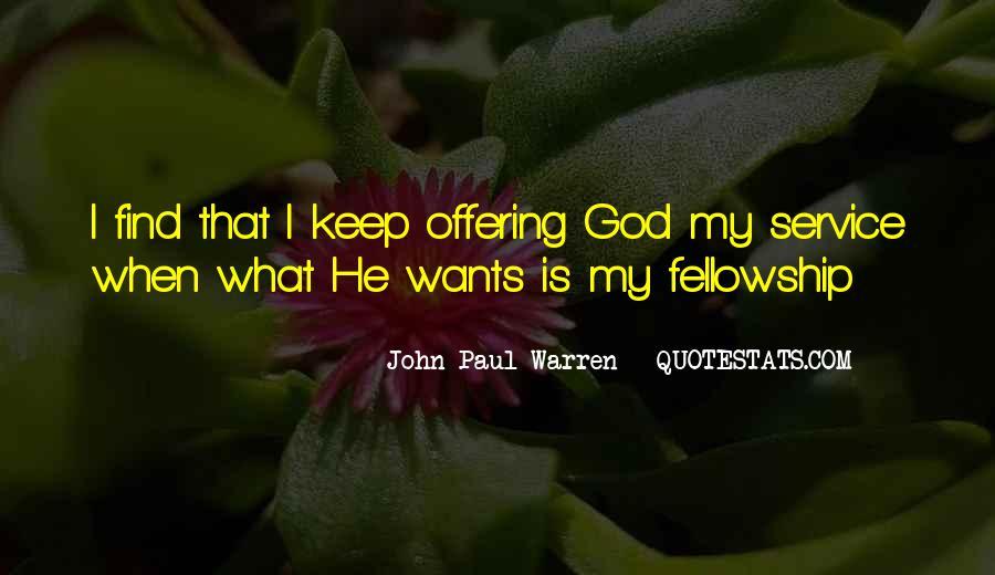 John Paul Warren Quotes #795720