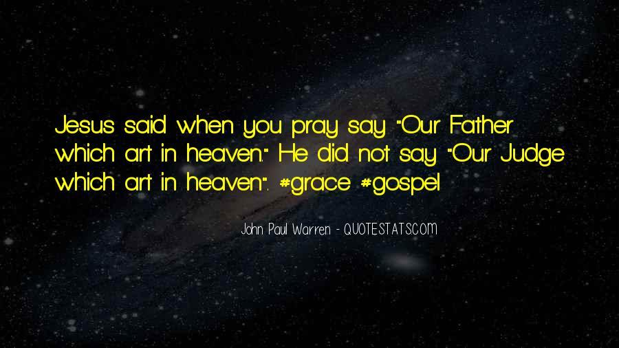 John Paul Warren Quotes #87618
