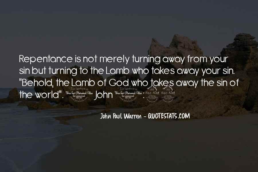 John Paul Warren Quotes #88353
