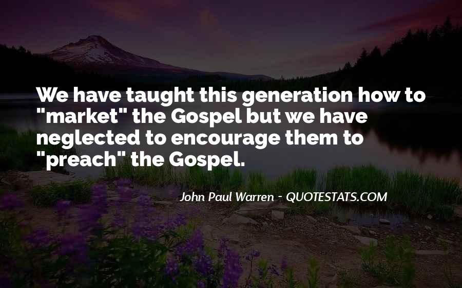 John Paul Warren Quotes #961103