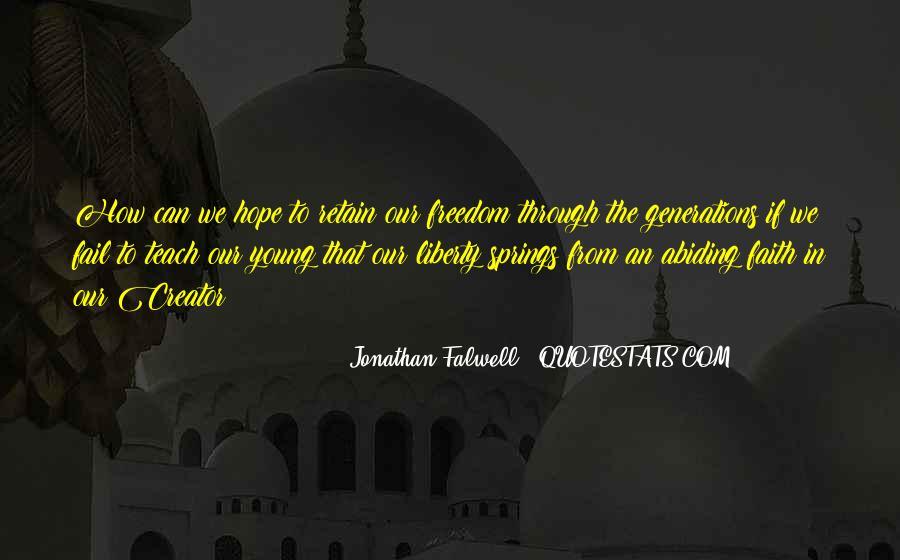 Jonathan Falwell Quotes #49374
