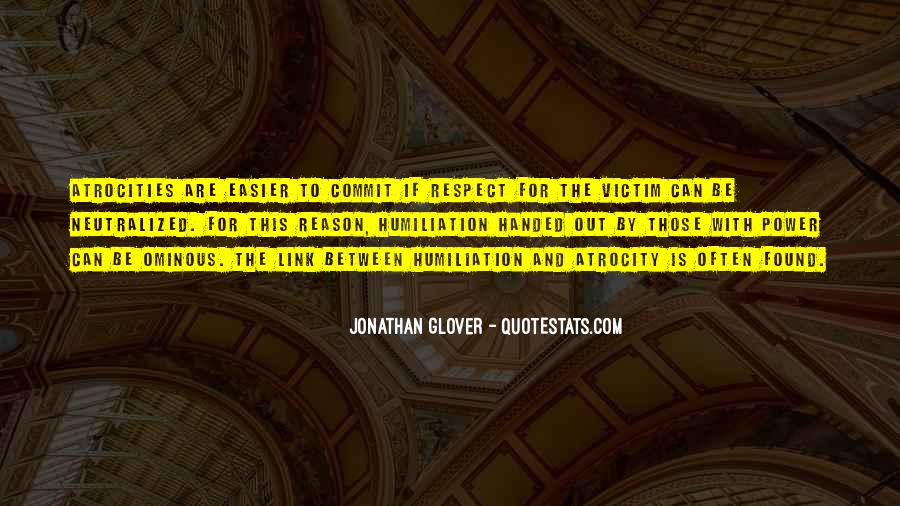 Jonathan Glover Quotes #1212914