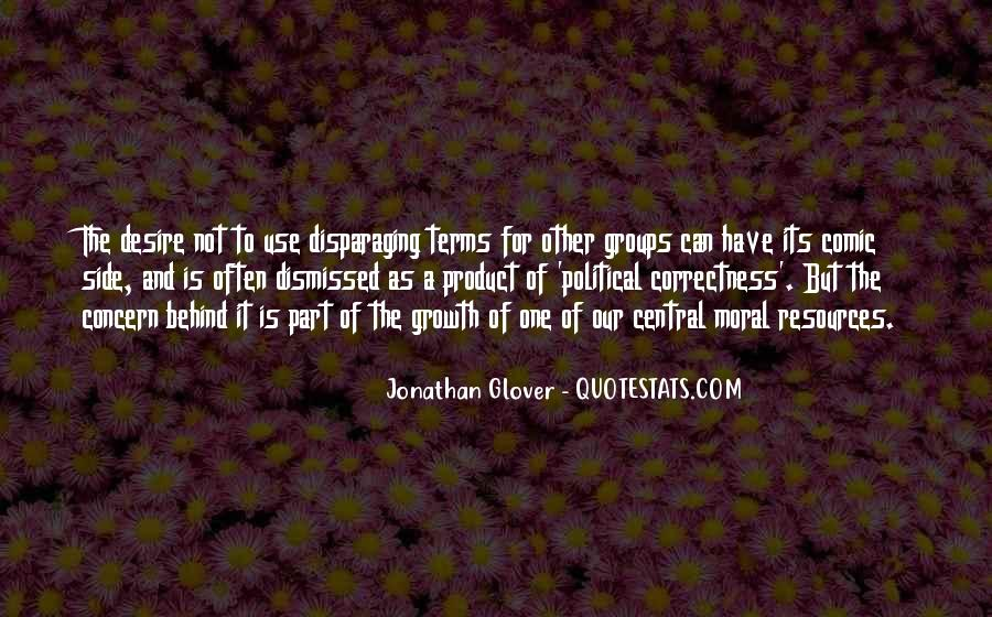 Jonathan Glover Quotes #920557