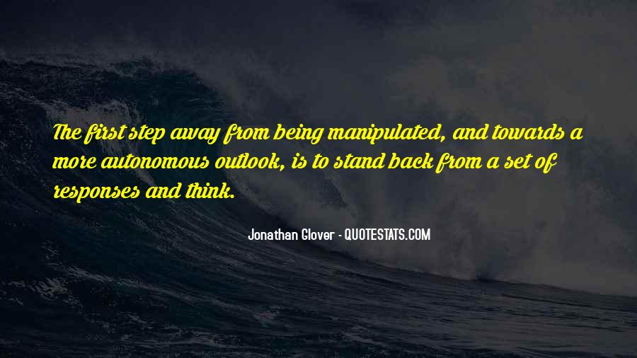 Jonathan Glover Quotes #99258