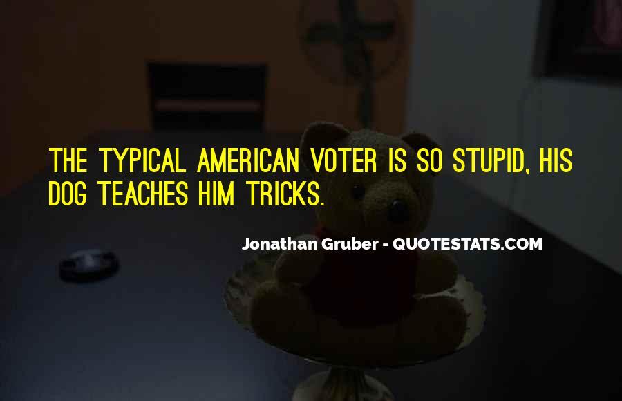 Jonathan Gruber Quotes #110501