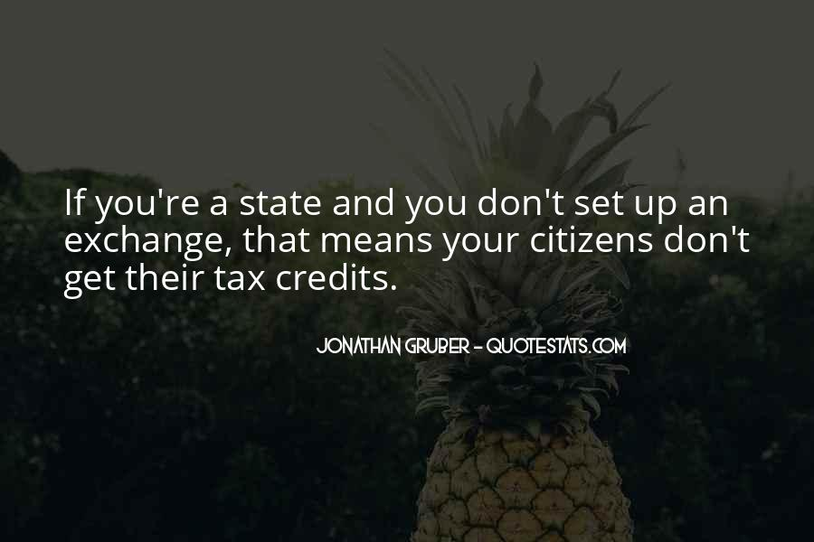 Jonathan Gruber Quotes #1682396