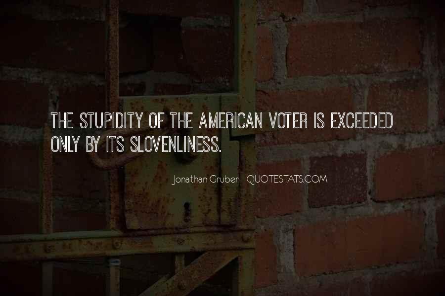 Jonathan Gruber Quotes #1855642