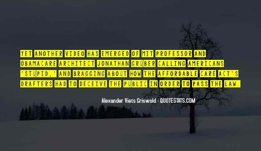 Jonathan Gruber Quotes #407007