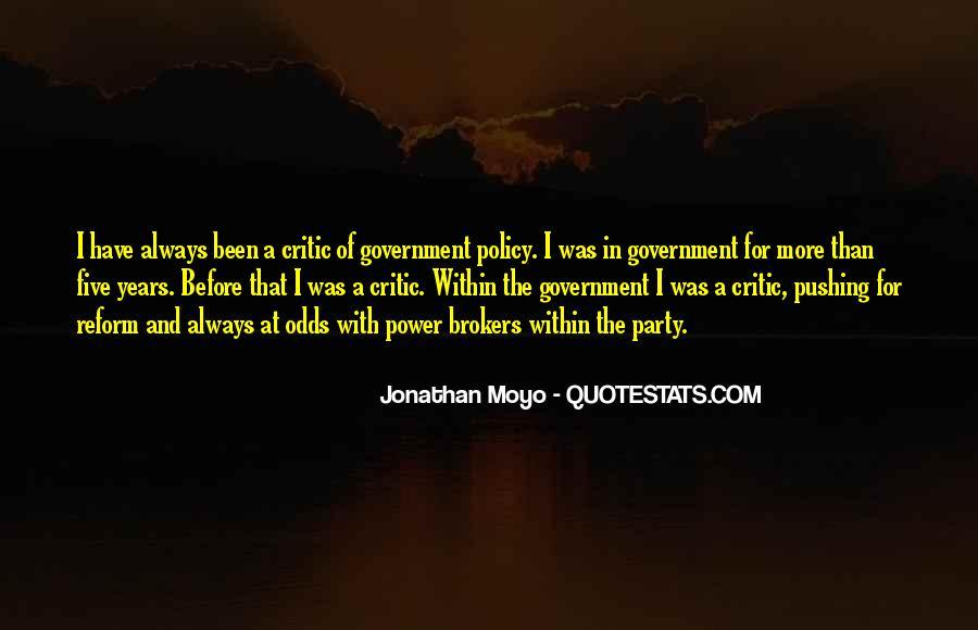 Jonathan Moyo Quotes #1808789