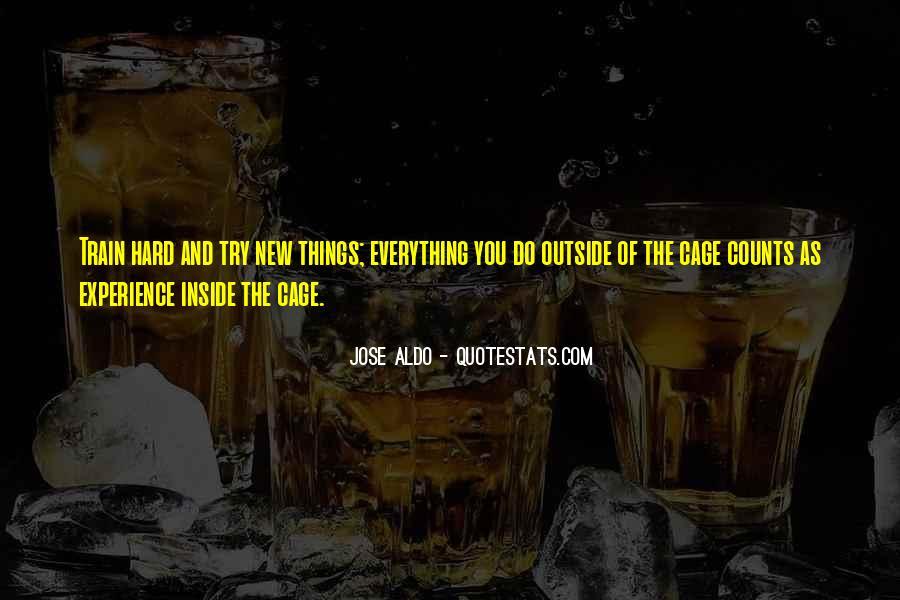 Jose Aldo Quotes #340111