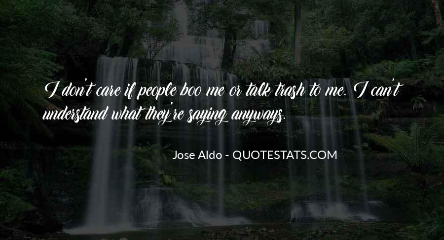 Jose Aldo Quotes #82044