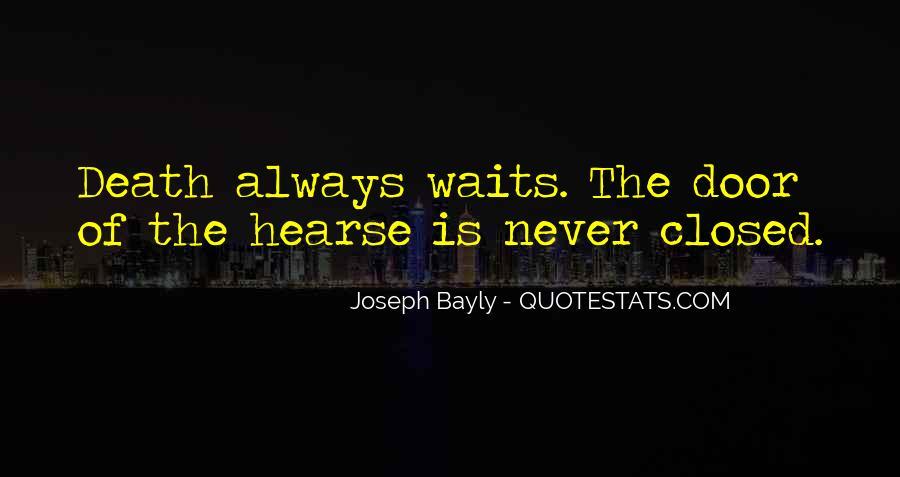 Joseph Bayly Quotes #1542098
