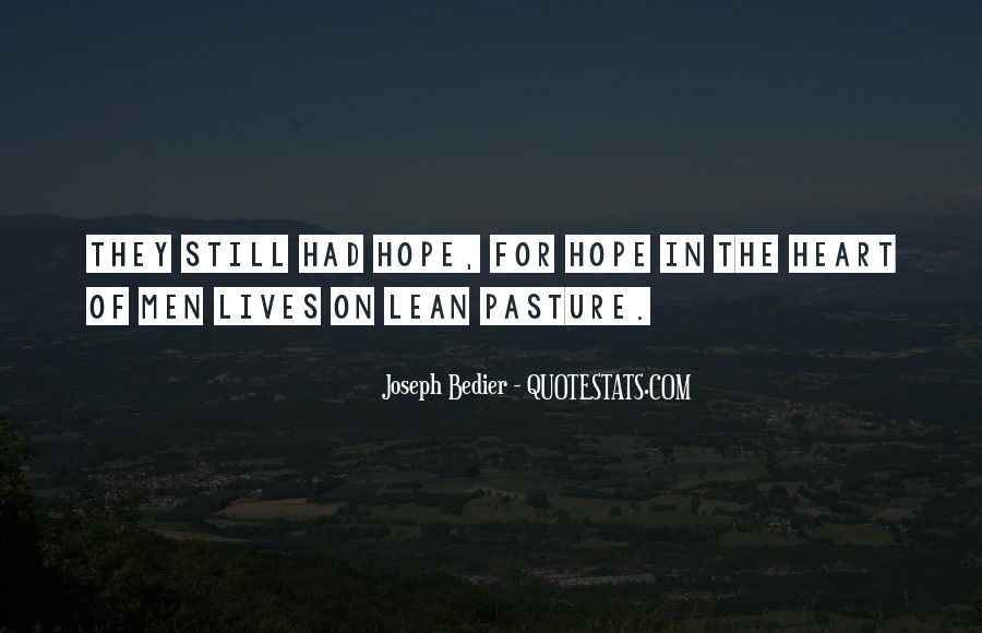 Joseph Bedier Quotes #1635564
