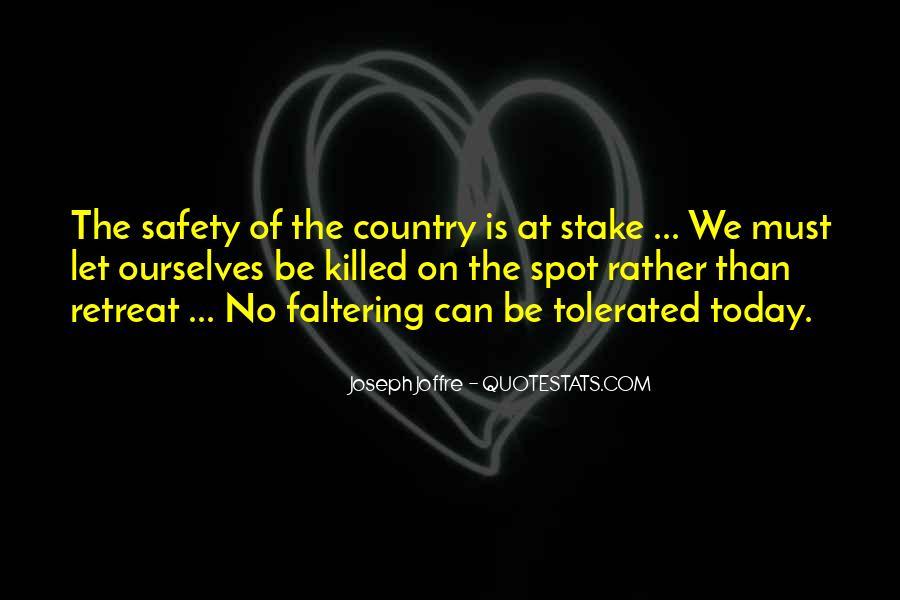 Joseph Joffre Quotes #264684
