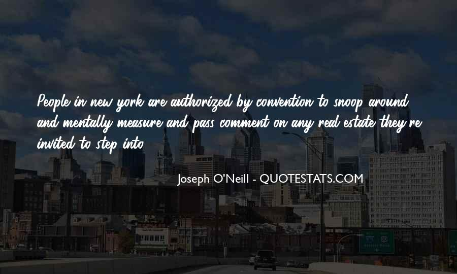 Joseph O'connor Quotes #1036411