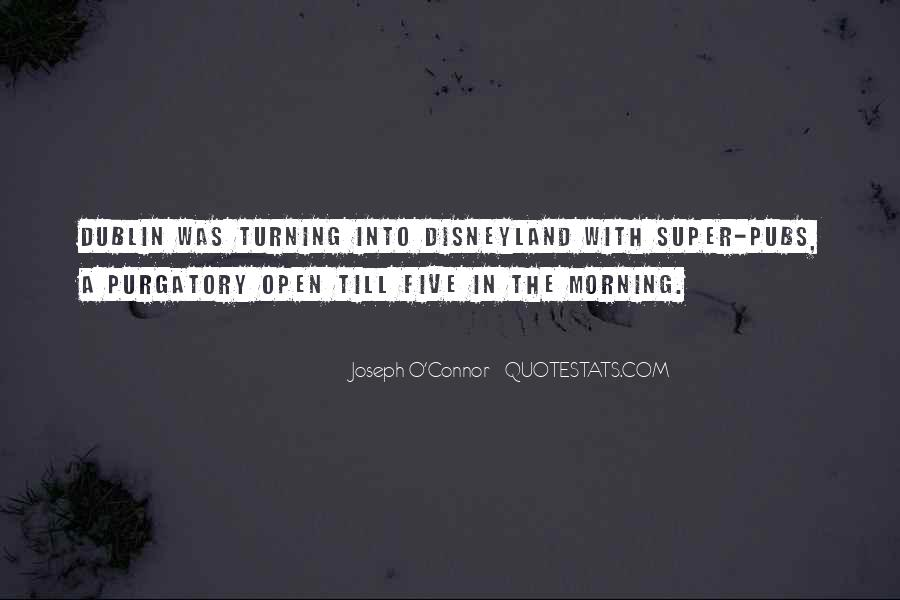 Joseph O'connor Quotes #158865