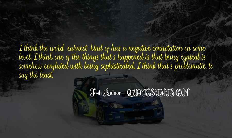 Josh Earnest Quotes #651027