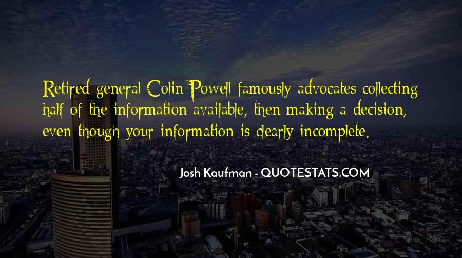 Josh Kaufman Quotes #101612