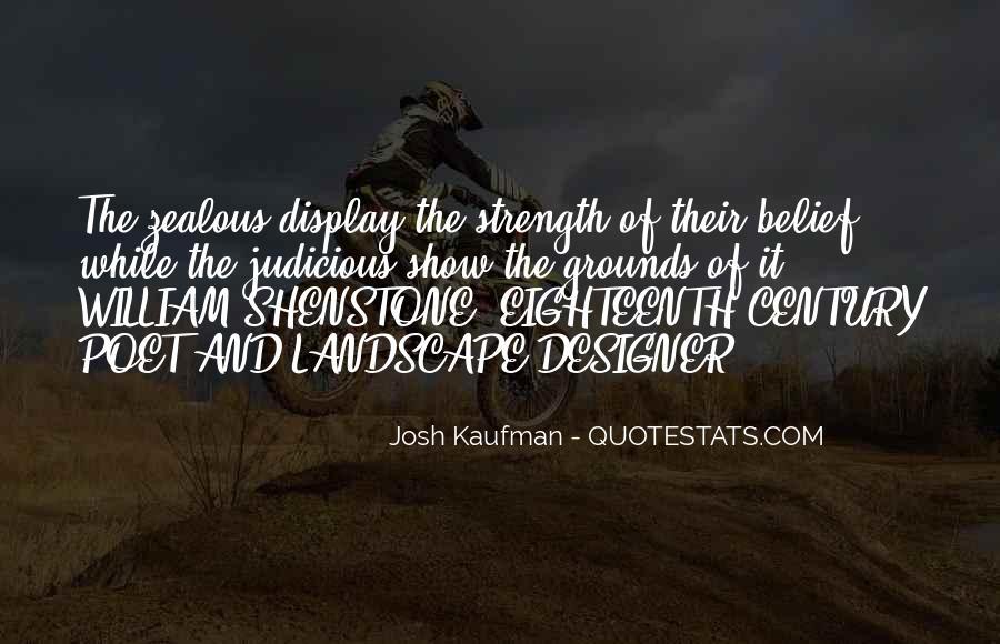 Josh Kaufman Quotes #1142535