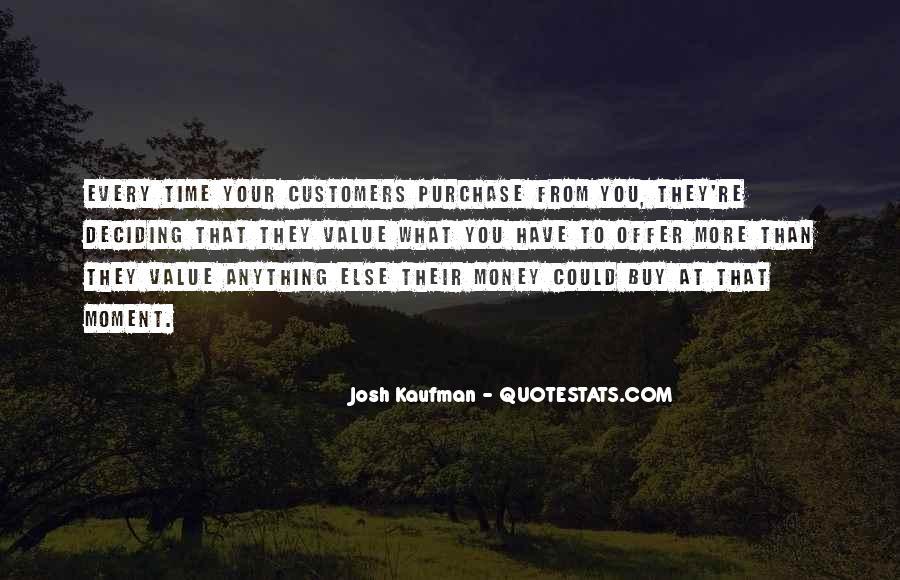Josh Kaufman Quotes #700455