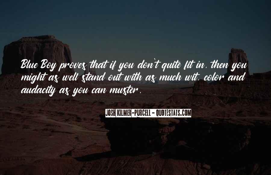 Josh Kilmer-purcell Quotes #1101757