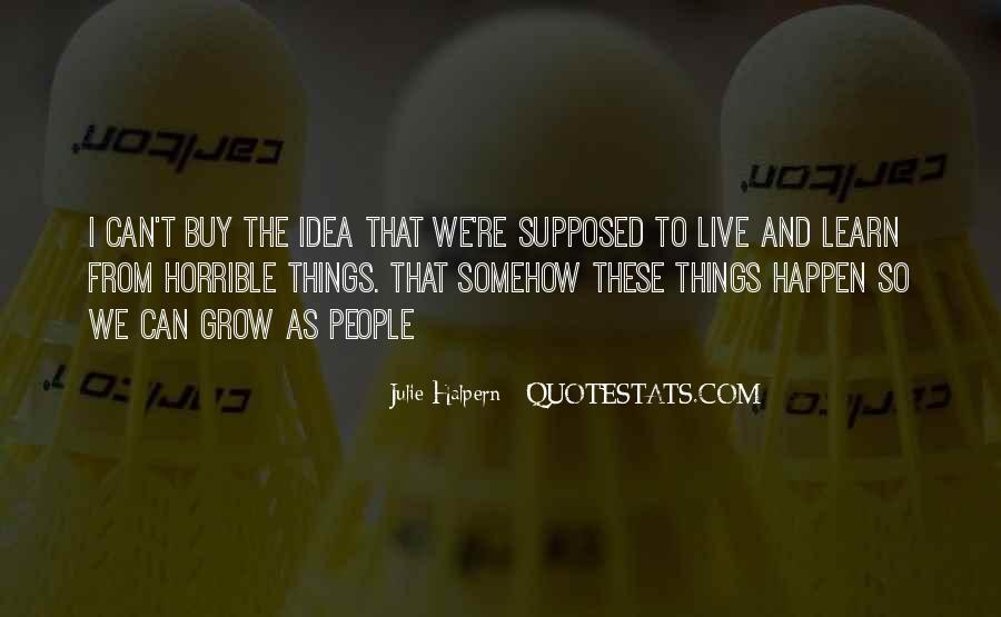 Julie Halpern Quotes #562685