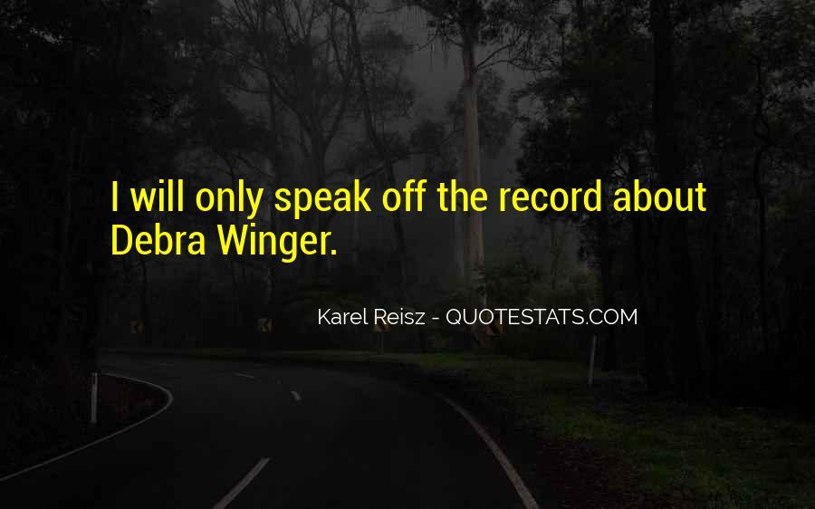 Karel Reisz Quotes #74653