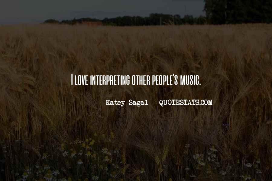 Katey Sagal Quotes #1286159