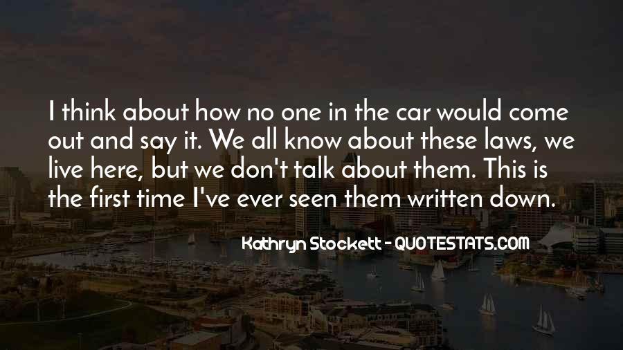 Kathryn Stockett Quotes #21347