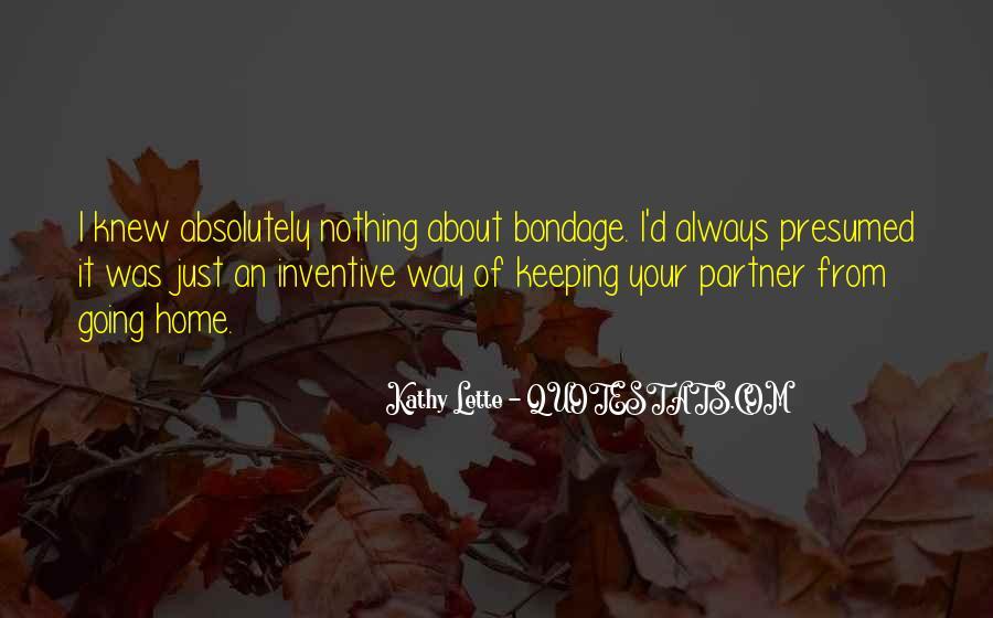 Kathy Lette Quotes #1021640