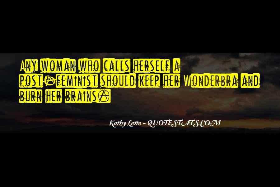 Kathy Lette Quotes #25778