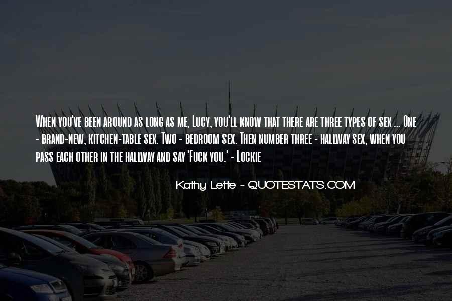 Kathy Lette Quotes #263371