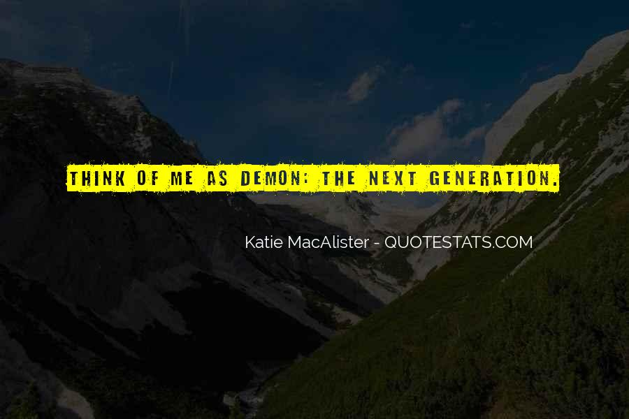 Katie Macalister Quotes #1224804