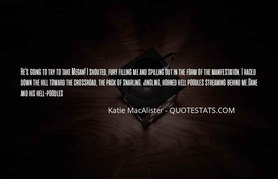 Katie Macalister Quotes #1225681