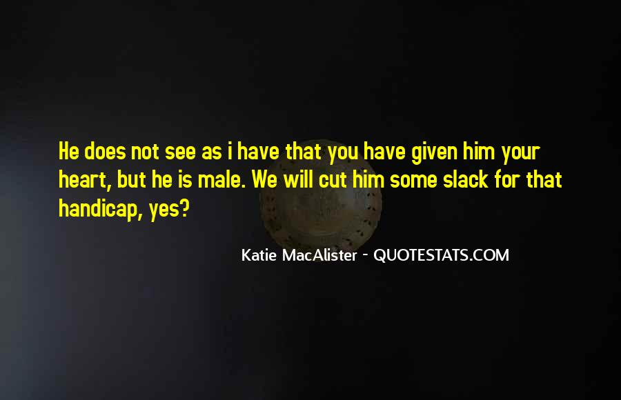 Katie Macalister Quotes #240138