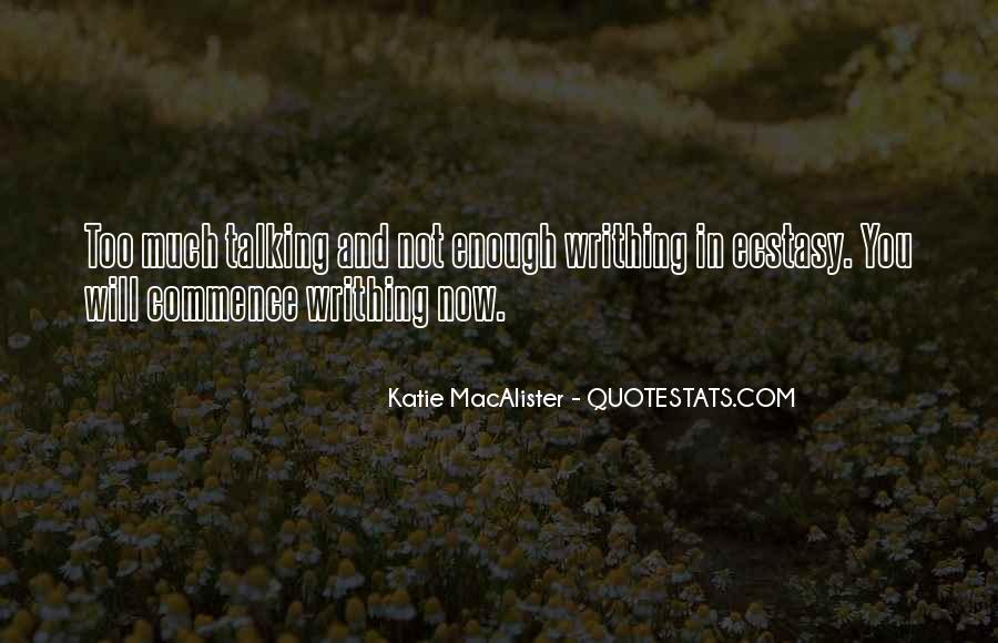 Katie Macalister Quotes #527303
