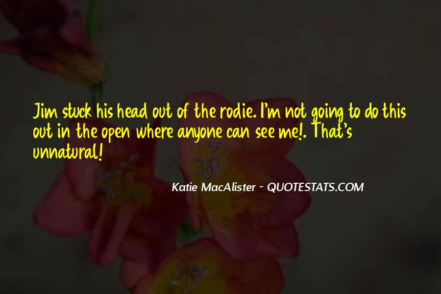 Katie Macalister Quotes #907500