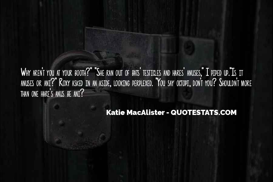 Katie Macalister Quotes #987057