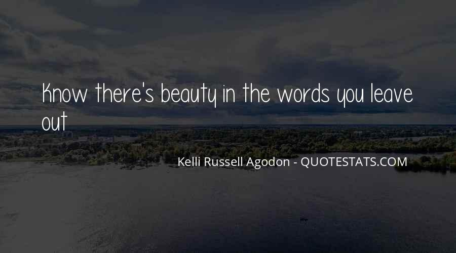 Kelli Russell Agodon Quotes #1497838