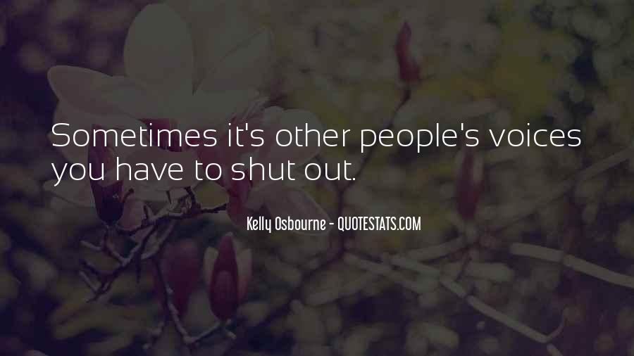 Kelly Osbourne Quotes #1004944