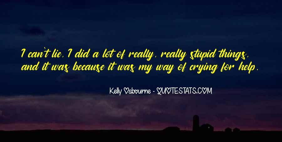 Kelly Osbourne Quotes #1333615