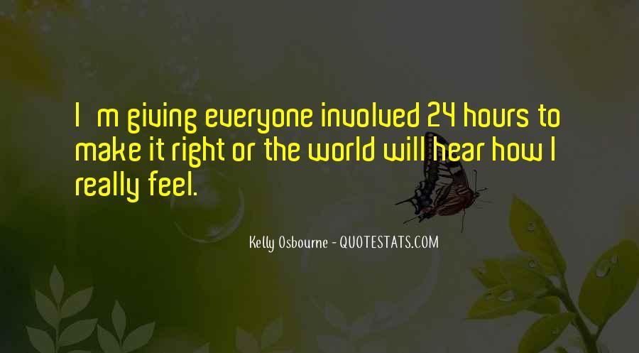 Kelly Osbourne Quotes #1470489